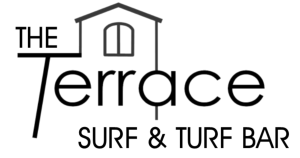 Terrace Logo Surf and Turf black with transparent background
